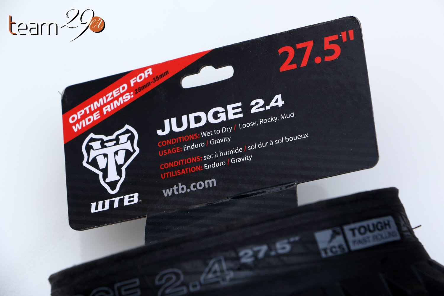 WTB Trail Boss Judge